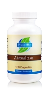 Adrenal 250mg (180 Capsules)