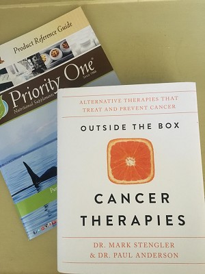 Book: Outside the Box Cancer Therapies: Alternative Therapies That Treat and Prevent Cancer, signed copy